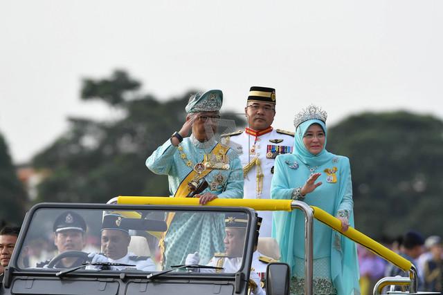 الملك الماليزي الجديد يؤدي اليمين الدستورية اليوم