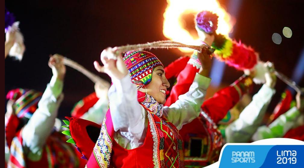 Ceremonia de clausura de los Juegos Panamericanos de Lima