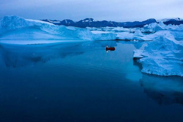 Icebergs de Groenlandia