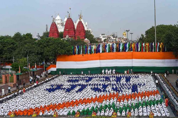India celebra su 73º Día de la Independencia