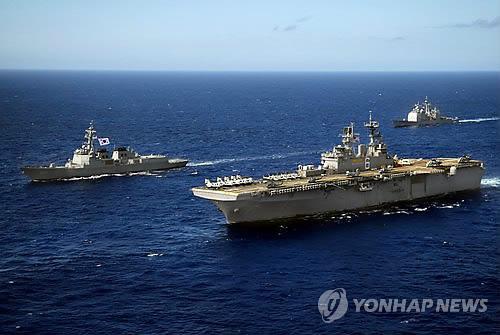 Corea y EE. UU. comenzarán simulacros militares conjuntos el lunes