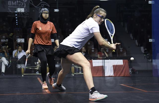 Malasia pasa a la semifinal del Campeonato Mundial Juvenil de Squash
