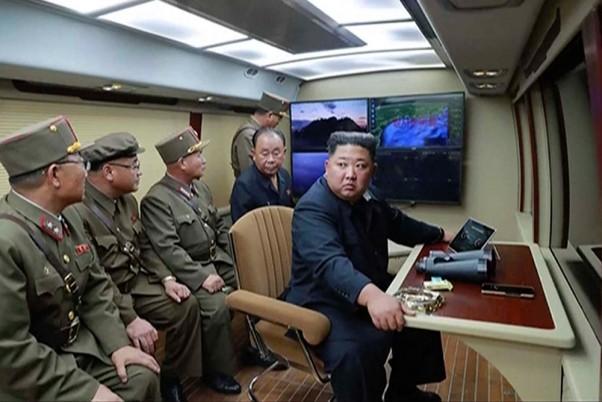 Prueba de lanzamiento de cohetes de Corea del Norte