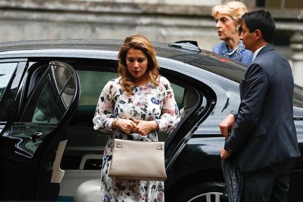 Continúa la audiencia de la princesa Haya en Londres