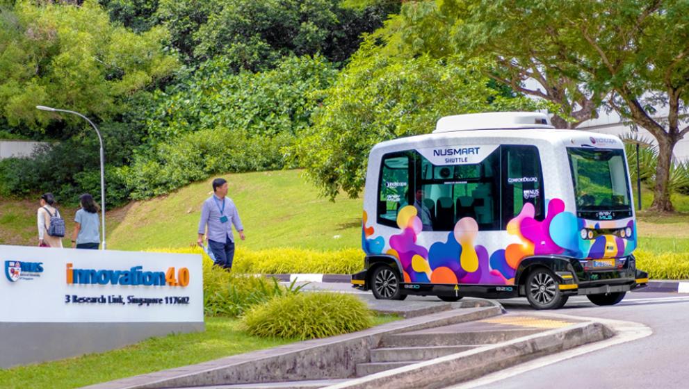 Autobús sin conductor de Singapur comenzará pruebas con pasajeros