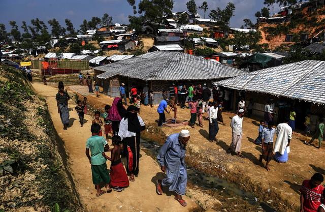 India supports 'speedy' return of Rohingya refugees to