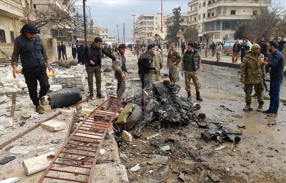 Terror attack in Afrin
