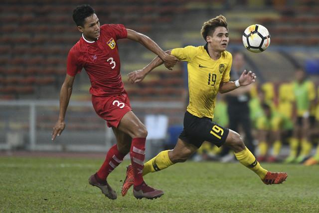 Malaysia beats Laos 1-0 at AFC U23 Championship qualifier