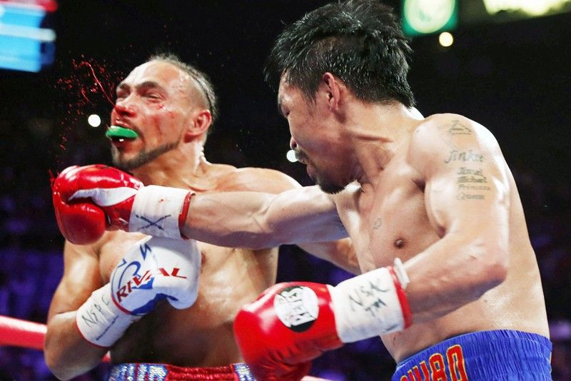 A force at 40: Vintage Pacman downs Thurman