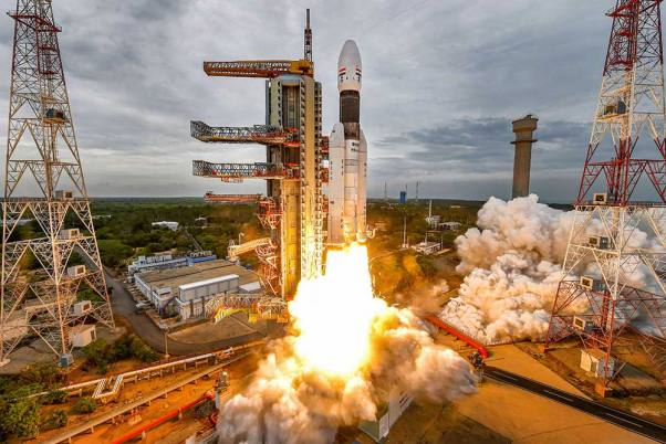 India launches second Moon mission