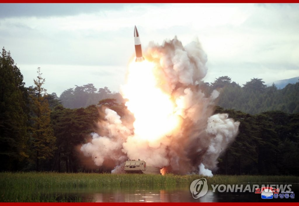N. Korea tests new weapon