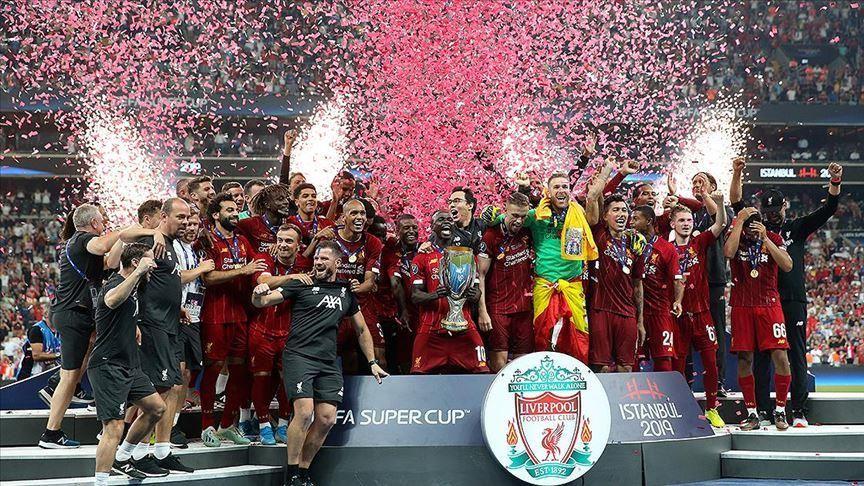 Football: Liverpool win UEFA Super Cup