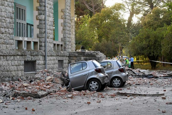 Most powerful earthquake for 30 years hits Tirana