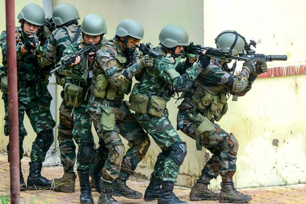 Indo-Thailand Joint Military Exercise Maitree
