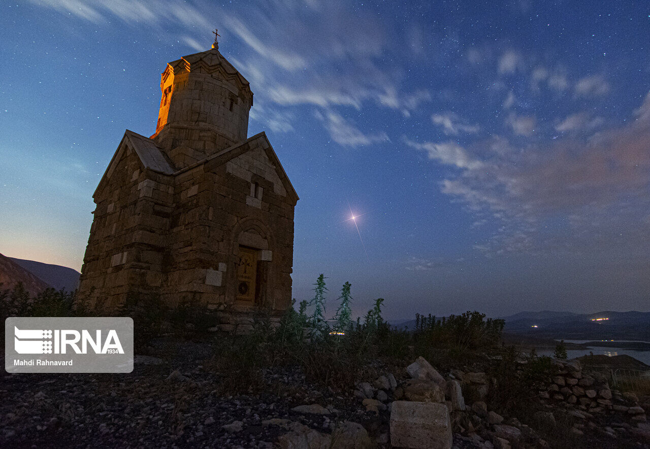 Old Chapel of Dzordzor in Northwest Iran