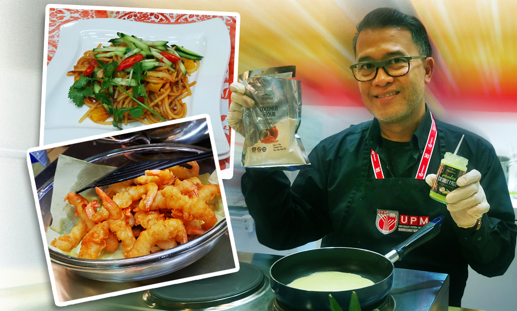 Malaysian Professor-cum-Chef Tantalizes Crowds With Live Cooking Demonstration at ANUGA Food Fair