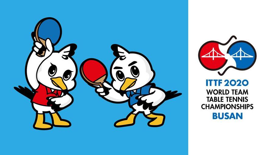 Mascots of ITTF 2020 championships