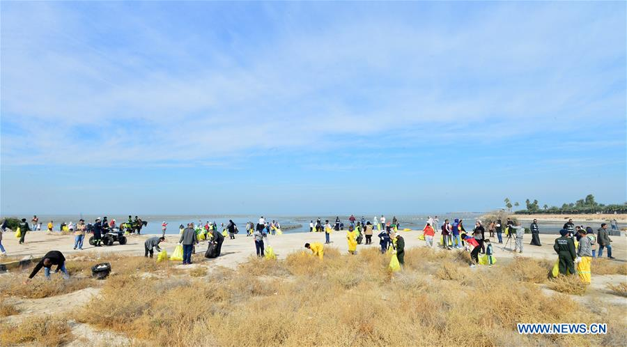 Kuwait Launches Beach Cleaning Campaign