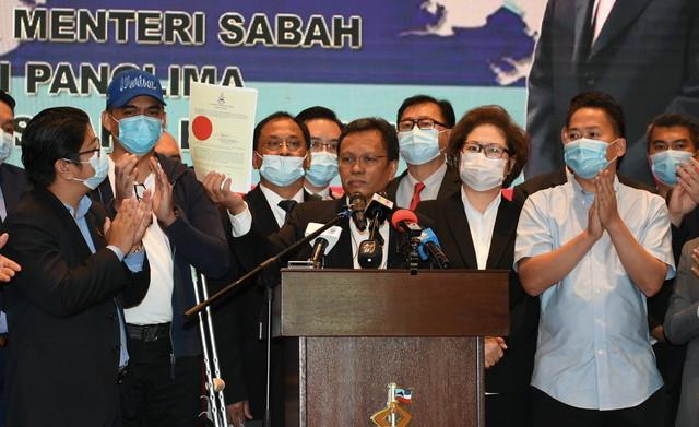Sabah state legislative assembly dissolved – CM Shafie