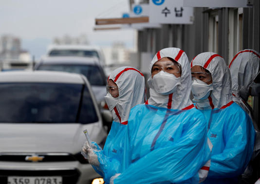 S.Korea Reports 113 More COVID-19 Cases, 22,504 In Total