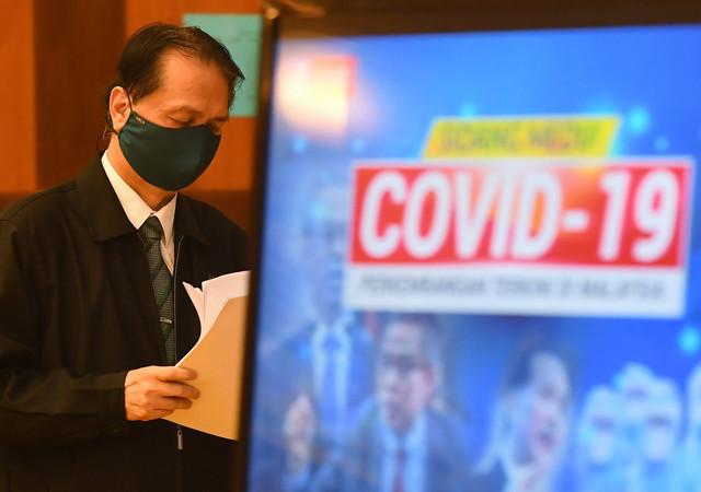 COVID: 17,577 New Cases Reported In M'sia, Sarawak Still Highest – Health DG