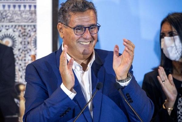 Morocco's premier Akhannouch announces coalition agreement