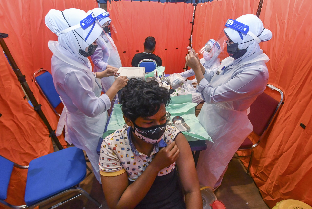 COVID-19 Immunisation Programme For Adolescents Kicks Off Today