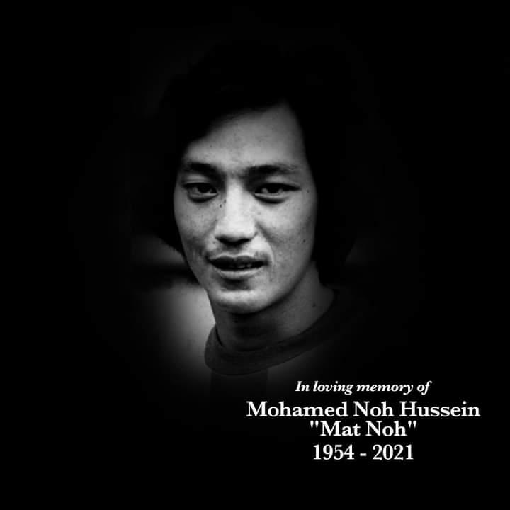 "Former Singapore National Footballer ""Mat Noh"" Dies"