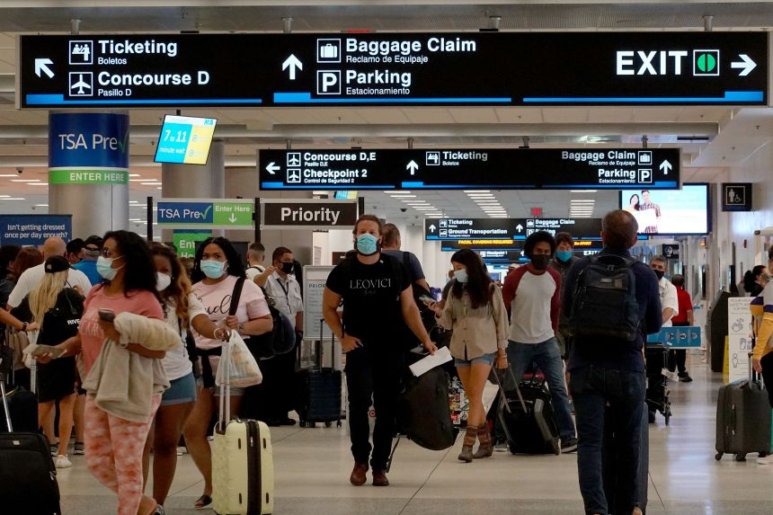 Covid-19: US to relax travel restrictions for vaccinated foreign air travellers in November